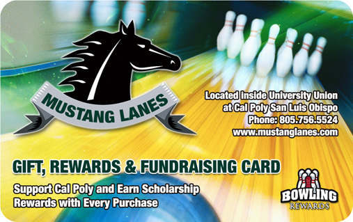 Mustang Lanes Bowling Rewards